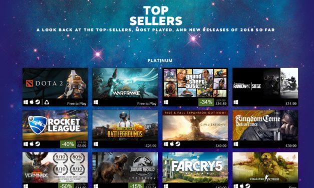 Best Games on Steam 2018